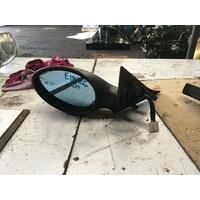 Alfa Romeo 156 Left Door Mirror Black Textured Type 02/1999-05/2006