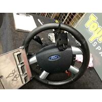 Ford Focus LT Leather Steering Wheel Cruise (Steering Wheel Only) 05/07-04/09