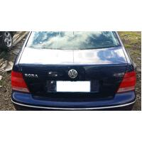 Volkswagen Bora 1J AUS Type Rear Bootlid 12/99-12/05 Wrecking Car
