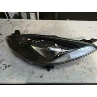 Mazda 2 DE Left Head Lamp Black Insert Genuine 09/2007-09/2014
