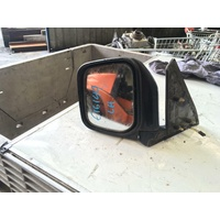 Mitsubishi Pajero NH-J-K-L Left Door Mirror Power Black 05/1991-04/2000