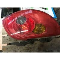 Peugeot 206 Hatch Left Tail Light 12/01-09/05