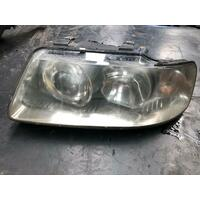 Audi A3 Left Head Light 8L 12/00 - 2003