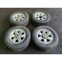 Toyota Hilux KUN26 16 Inch Alloy Wheels Set of Four 03/05-08/15