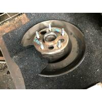 Toyota Corolla ZRE152 LHR Hub Assy. ABS Type (No Disc) 03/2007-10/2013