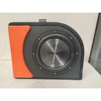 "10"" Clarion Subwoofer with Super Slim Cadence Subwoofer Box"