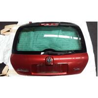 Renault Clio CFA X65 Red Rear End Tailgate 12/01-07/08