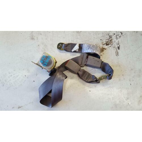 Toyota Corolla AE112 Seca right hand rear seat belt and stalk 10/1998-11/2001